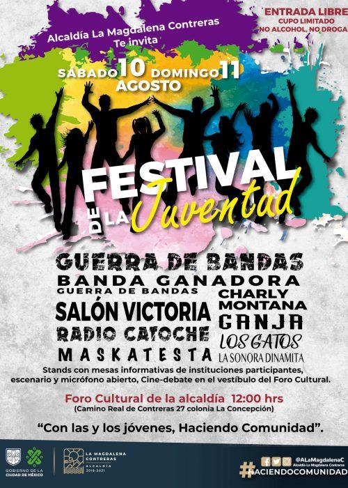 Festival de la juventud poster