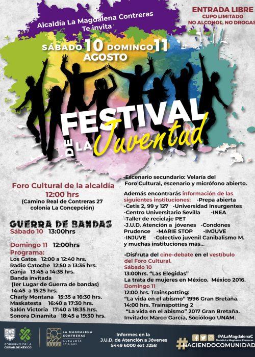 Festival de la juventud Programa