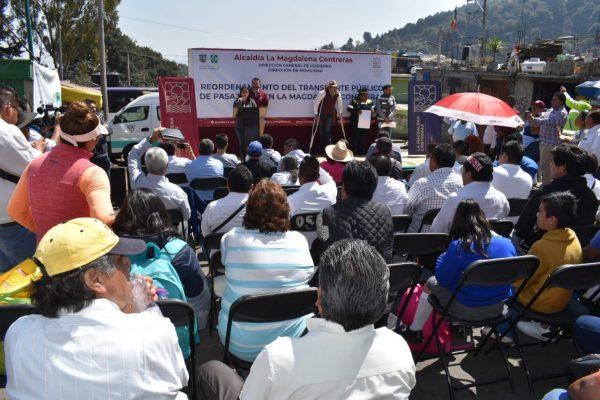 Boletin Implementa reordenamiento del Transporte Público de la mano con SEMOVI e INVEA