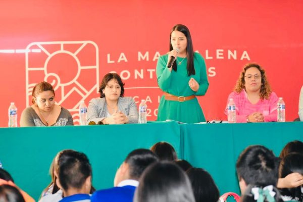 Boletin - Alcaldesa de La Magdalena Contreras promueve la prevención de la violencia entre jovenes