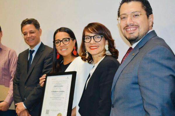 Secretaria de Economía del Gobierno de México Certifica a La Magdalena Contreras por Transparencia cero corrupción en materia de Permisos de Construcción