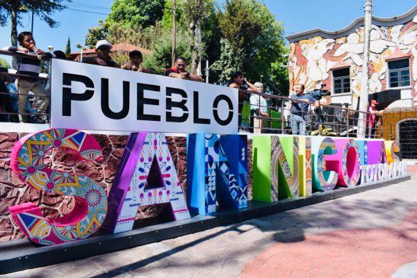 Boletin Alcaldesa de La MagdalenaContreras Devuelvela Vida Comunitaria al Pueblo de San Nicolás Totolapan