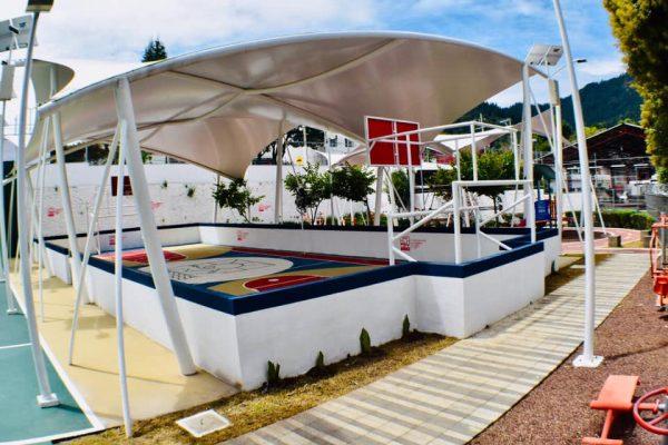 Inicio - Boletín - Alcaldesa dignifica espacios públicos