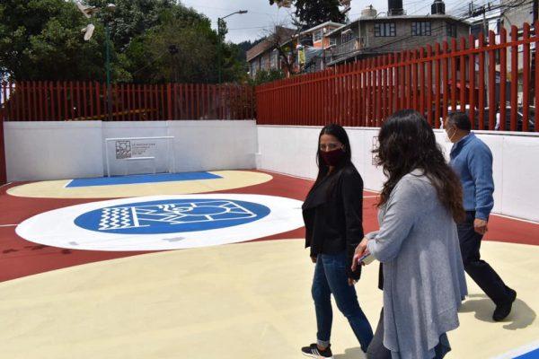 Inicio - Boletín Alcaldesa Rehabilita Parque Lineal Las Torres